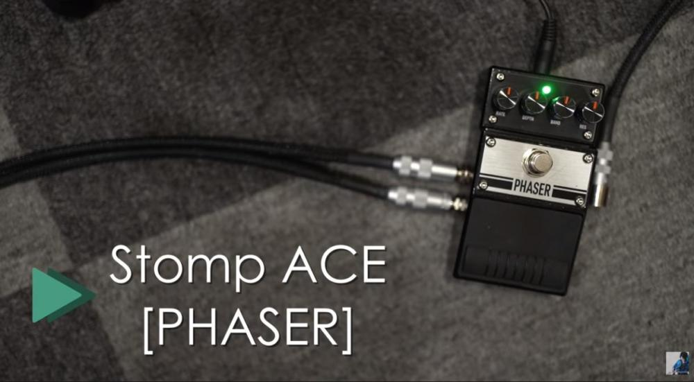 BAC AUDIO Stomp ACE Phaser2