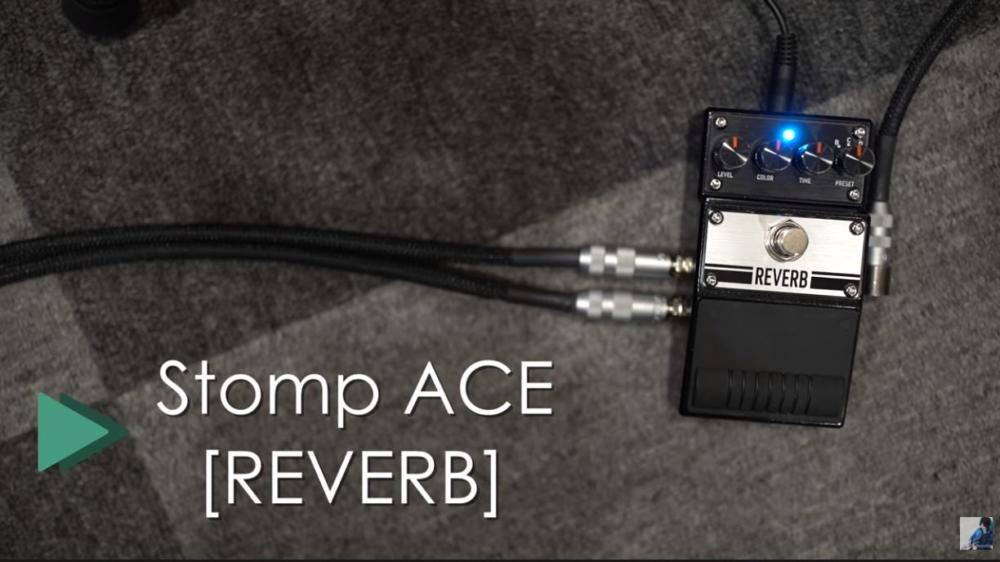 BAC AUDIO Stomp ACE Reverb