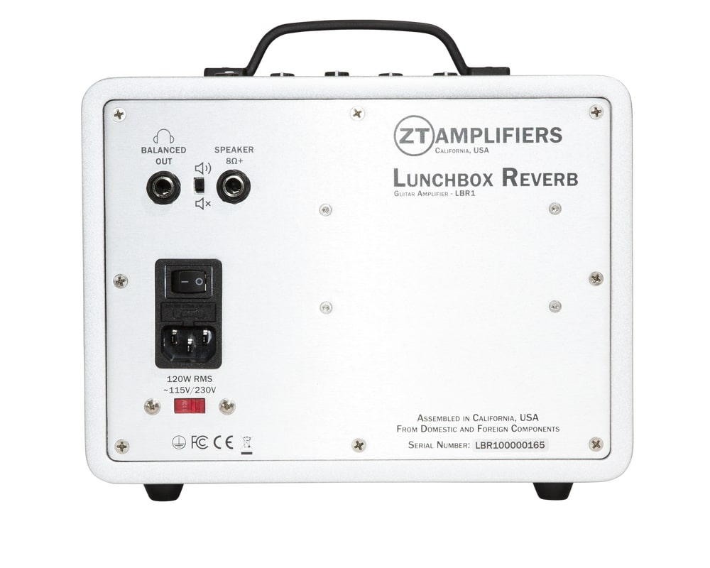 Lunchbox Reverb100 ZT Amplifires back