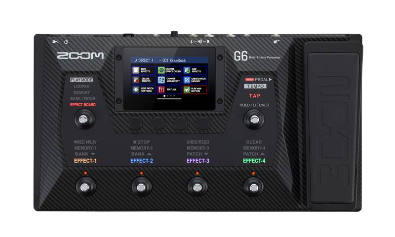 ZOOM G6 正面