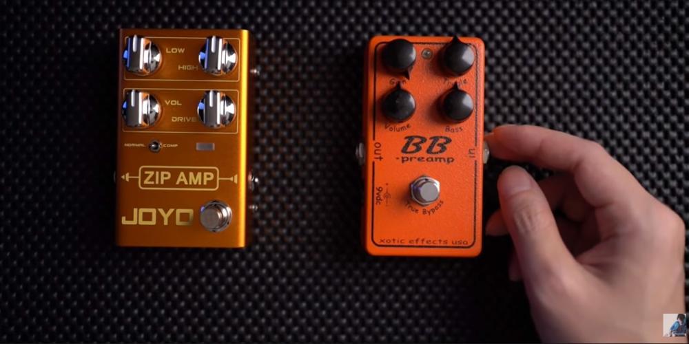 JOYO ZIP AMP R-04 vs bb