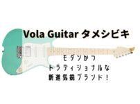 Vola Guitar タメシビキ